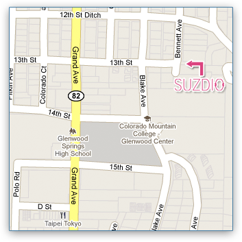 Map to Suzdio